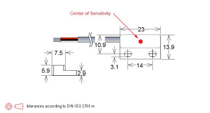 mh04 series hall effect sensor
