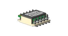 10W-50W Planar Transformers | Size P025