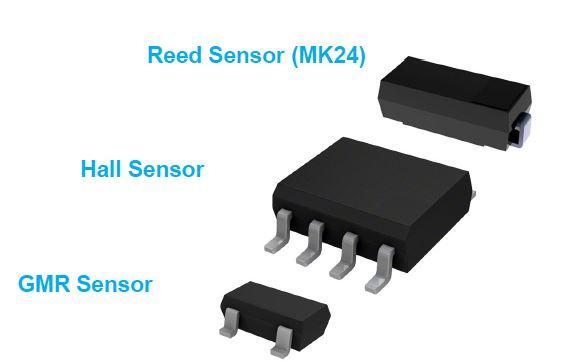 Reed, Hall, GMR Sensor Photo