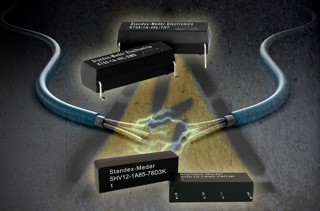 High voltage isolation relays KT and SHV series