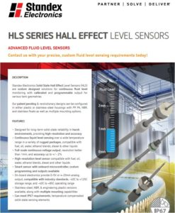 Hall Effect Level Sensors