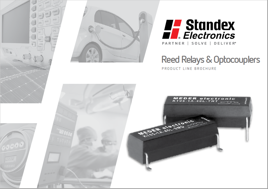 Reed Relays & Optocouplers product line brochure