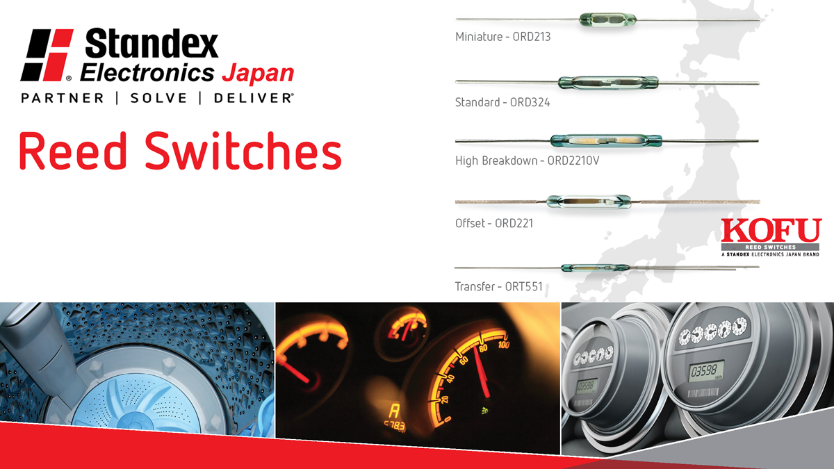 Standex Electronics Japan reed switches