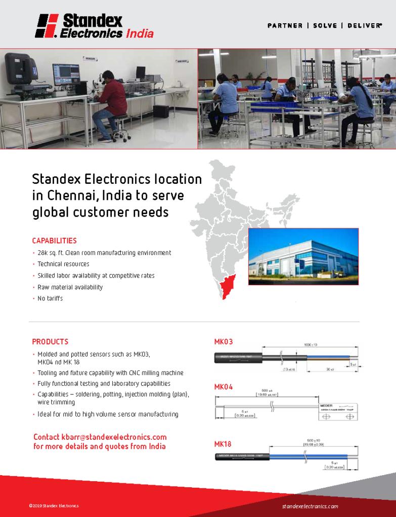 Standex Electronics India