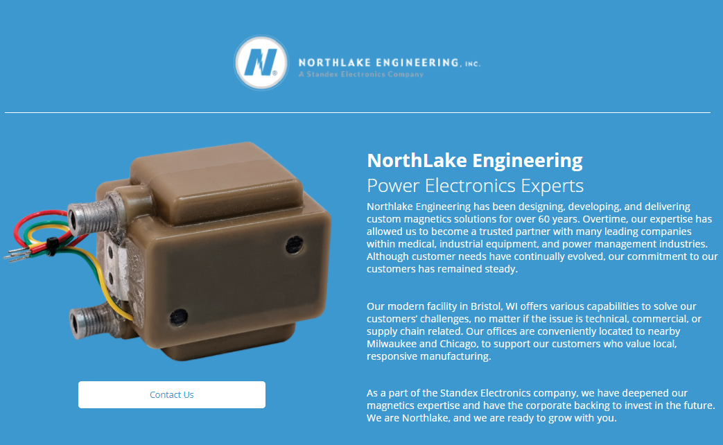 Northlake Engineering Brand Page