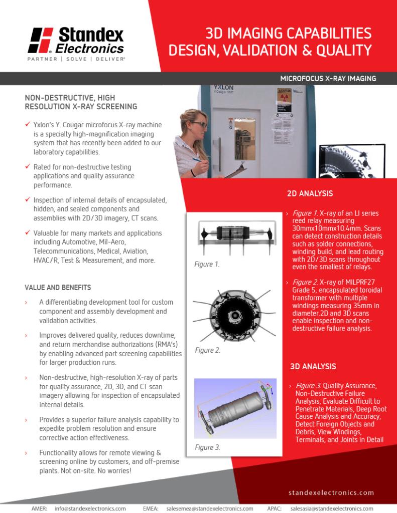 X-ray machine capabilities