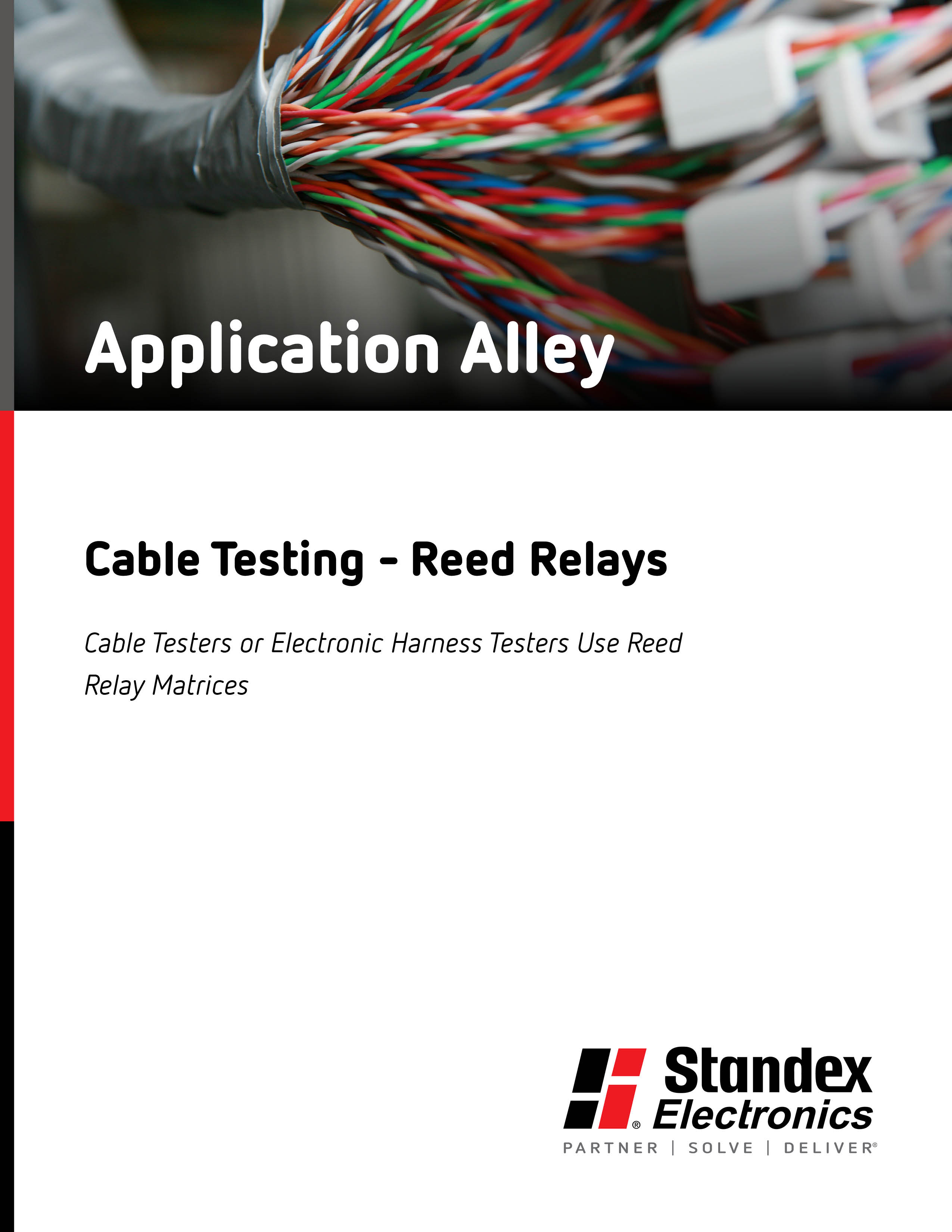Cable Testing Reed Relay Standex Electronics Electric Uses