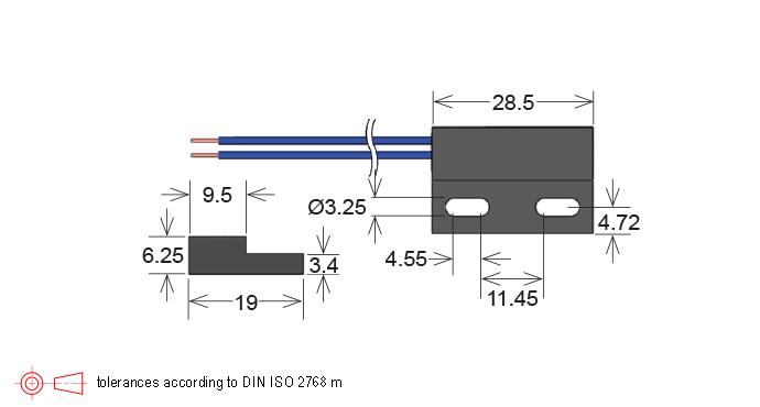 mk21p  mk21m series reed sensor
