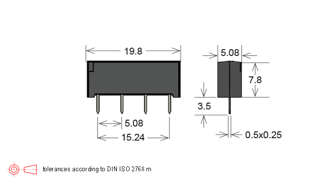 sil series reed relay