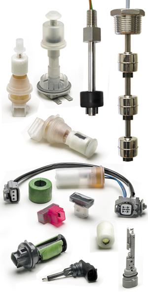 Custom Reed & Conductive Liquid Level Sensors